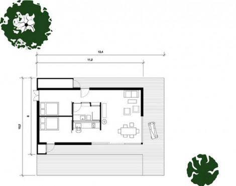 Desain Cottage Sederhana Terjangkau