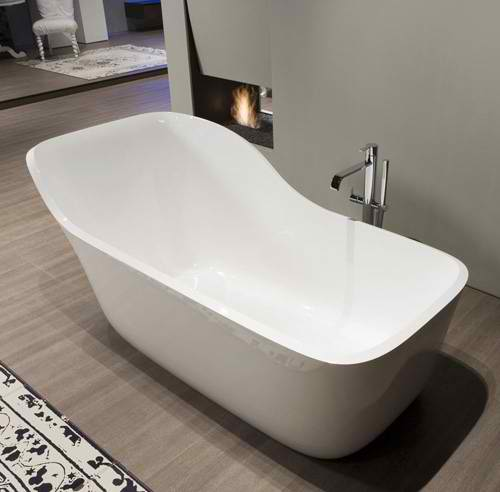 Incroyable Comfy Extra Large Relax Backrest Bathtub