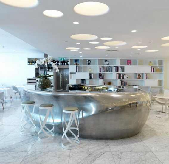 house designs: luxury restaurant and a strong silver colord_raw