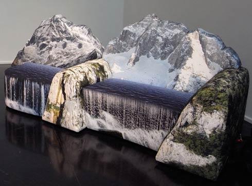 Mountain Couch 3. (u0027Montanarau0027 Couch By Gaetano Pesce) Nice Design